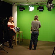 litlounge.tv gab bei ihren Führungen Einblick in die Arbeit vor und hinter der Kamera